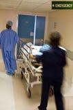 Emergencia del hospital Foto de archivo libre de regalías