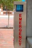 Emergencia pública Foto de archivo libre de regalías
