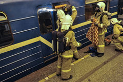 Emergencies ministerstwa ćwiczenia obrazy stock