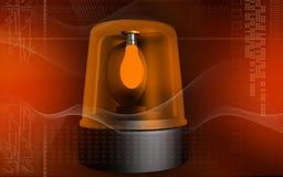 Emergency alarm lamp Royalty Free Stock Photo