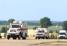 Emergency ambulance Royalty Free Stock Photography