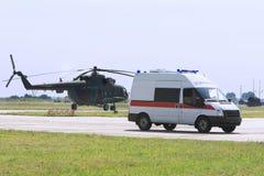 Emergency ambulance Stock Image