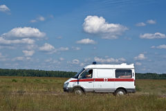 Emergency ambulance Royalty Free Stock Images