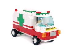 Emergency ambulance car Stock Images
