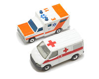 Emergency  ambulance car Royalty Free Stock Image