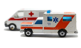 Emergency ambulance car Royalty Free Stock Photos