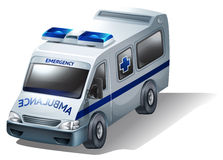 An emergency ambulance Stock Photography