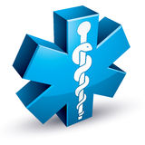 Emergency ambulance medicine symbol. Stock Photography