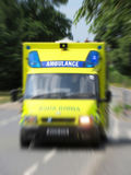 Emergency ambulance Royalty Free Stock Photos