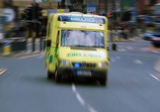 Emergency ambulance Stock Photography