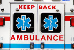 Emergency ambulatory care Royalty Free Stock Images