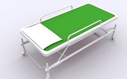 Emergency Bed Royalty Free Stock Photo