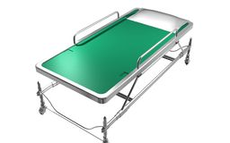 Emergency Bed Stock Image