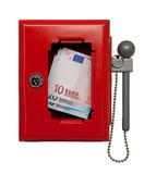 Emergency box Royalty Free Stock Images