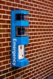 Emergency Box Royalty Free Stock Photos
