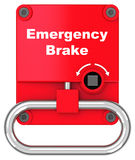 The emergency brake Royalty Free Stock Photography