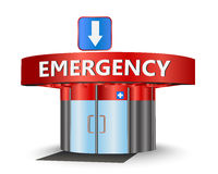 Emergency building Royalty Free Stock Images