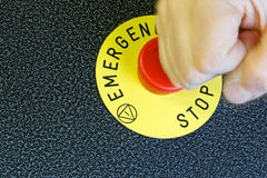Emergency Button Royalty Free Stock Photography