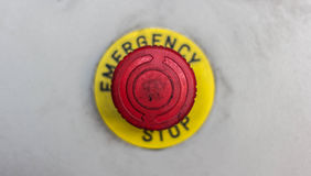 Emergency button Royalty Free Stock Images