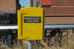 Emergency Call Box Stock Image