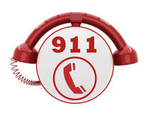 911 Emergency Call Number Royalty Free Stock Photos