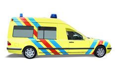 Emergency car royalty free stock images