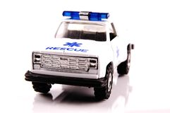 Emergency car stock photo