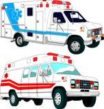 Emergency car Stock Photography