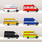 Emergency cars Royalty Free Stock Photography