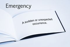 Emergency Concept royalty free stock photos