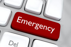 Emergency concept Stock Photo