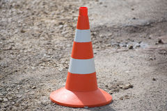 Emergency cone Royalty Free Stock Images