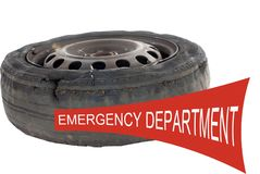 Emergency Department Road Accident Stock Photos