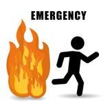 Emergency design. Emergency digital design, vector illustration eps 10 Stock Image