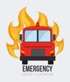Emergency design, vector illustration. Stock Photography