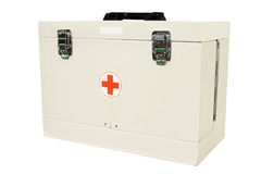 Emergency doctor's box Royalty Free Stock Photos