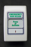 Emergency Door Release Royalty Free Stock Photos
