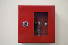 Emergency door release Stock Image