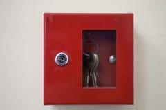 Emergency door release Stock Image