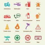 Emergency elements Stock Image