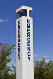 Emergency Entrance Beacon for a Local Hospital IX Royalty Free Stock Image