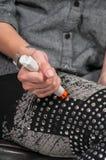 Emergency Epinephrine Stock Image