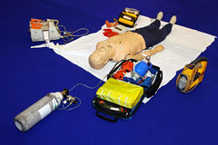 Emergency equipment Stock Images