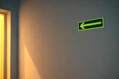 Emergency exit Royalty Free Stock Photography