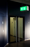 Emergency Exit Stock Photos