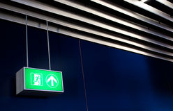 Emergency Exit Royalty Free Stock Photos