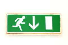 Emergency exit Royalty Free Stock Image