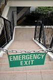Emergency exit - Chained Stock Photos