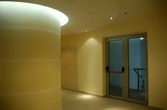Emergency Exit Door. Emergency door in a moder office, school corporation Royalty Free Stock Photo