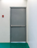 Emergency exit door Stock Image
